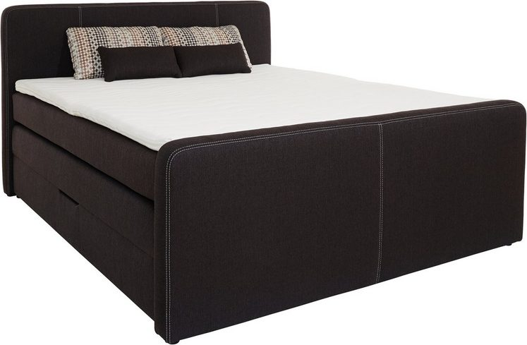 boxspringbett mit bettkasten von alles was du. Black Bedroom Furniture Sets. Home Design Ideas