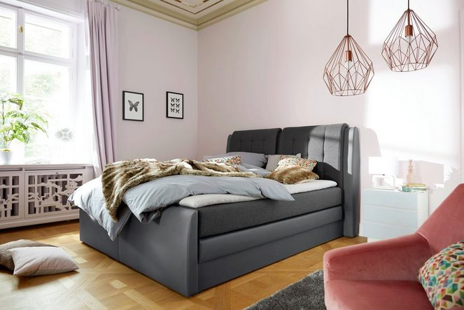 Collection AB Boxspringbett »Rubene«