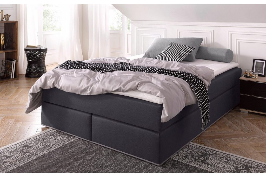 collection ab boxspringbett inkl topper alles was du. Black Bedroom Furniture Sets. Home Design Ideas