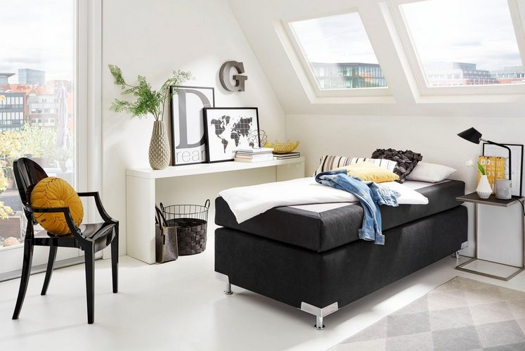 westfalia boxspringbett ohne kopfteil alles was du. Black Bedroom Furniture Sets. Home Design Ideas