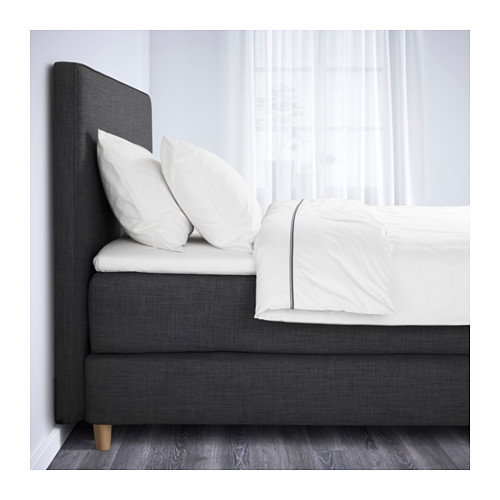 ikea dunvik boxspringbett test expertentest bewertungen. Black Bedroom Furniture Sets. Home Design Ideas